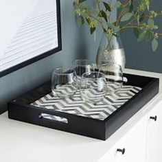 west elm offers modern furniture, home accessories and decor featuring inspiring designs & colours. Modern Serving Trays, Living Room Update, Living Rooms, Coffee Table Tray, Mirror Tray, Round Tray, Home Upgrades, Tray Decor, Room Accessories