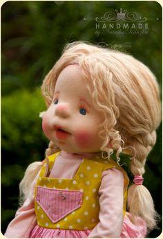 Verkauft. Sue. Waldorf inspirierte Puppen 18'' von kiwinestling