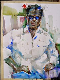 The Watercolour Log: Charles Reid