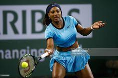 Serena Williams v Victoria Azarenka in the final of the BNP Paribas Open in WTA Indian Wells, 2016