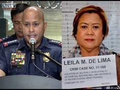 PNP Chief Ronald dela Rosa reassures Sen. Leila de Lima of her safety amid fake news on social media - WATCH VIDEO HERE -> http://dutertenewstoday.com/pnp-chief-ronald-dela-rosa-reassures-sen-leila-de-lima-of-her-safety-amid-fake-news-on-social-media/   PNP Chief Ronald dela Rosa assures anew the safety and security of Senator Lelia de Lima while in detention. Grace Casin will tell us why. For more videos: For News Update, visit:  Check out our official social media accounts