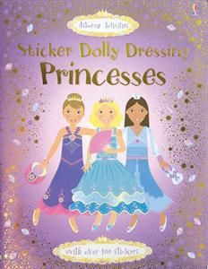 One of Usborne's top activity books!  Dress the princesses with respositional stickers.  This has created hours of fun for my daughter and plenty of birthday gifts!