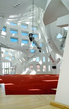 Cleveland Clinic Lou Ruvo Center for Brain Health / Frank Gehry,Interiors © Matthew Carbone, Photographer