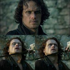 "He really tries to die - fortunately nothing ""works"" Source: OutlanderOnline #outlander #outlanderseries #outlanderfans #outlanderfan #outlanderstarz #starzoutlander #starz #jamesalexandermalcolmmackenziefraser #jamiefraser #samheughan #samheughanfans #clairefraser #clairebeauchamp #caitrionabalfe #caitrionabalfefan #samcait #jamieclaire #sassenach #outlanderobsessed #outlanderforever #jesuisprest #season3finallyarrived #voyager #printshopiscoming #printshop #watchingseason3 #alldebtspaid"