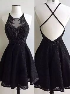 Sparkly Prom Dress, black lace prom dress short special occasion dresses short prom dress homecoming dress graduation dresses cut party dress , These 2020 prom dresses include everything from sophisticated long prom gowns to short party dresses for prom. Cute Homecoming Dresses, Hoco Dresses, Dance Dresses, Pretty Dresses, Beautiful Dresses, Prom Dress, Graduation Dresses, Gown Dress, Elegant Dresses