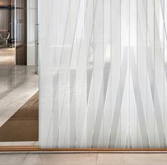 | SkylineDesign | Architype | Glass | Oblique by Ronan and Erwan Bouroullec for Skyline Design. For more information, contact | @architypesocal | www.architype.net | info@architype.net | #SkylineDesign #Architype #Glass #Interior #Skyline #Glassart Skyline Design, Glass Art, Curtains, Interior, Home Decor, Blinds, Decoration Home, Room Decor, Jar Art