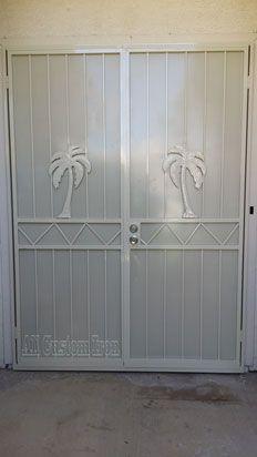 custom iron french door  www.allcustomirongates.com/ #allcustomiorn #LasVegas