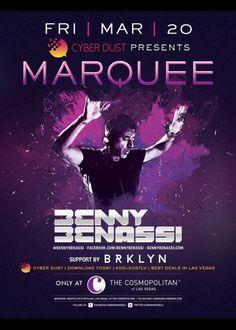 Benny Benassi at Marquee Nightclub