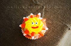 Sunshine cupcake idea