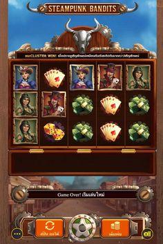 Bingo Games, Casino Games, Slot, Steampunk, Thailand