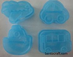 Vehicles Cutter / Cookies / Rice Moulds
