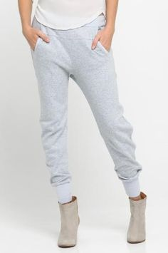 ARTY baggy sweat pants in color ice by Humanoid