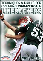 Techniques & Drills for Creating Championship Linebackers - Football -- Championship Productions, Inc. Football Defense, Football 101, New York Jets Football, Youth Football, High School Football, Sport Football, Football Season, Football Players, Football Stuff