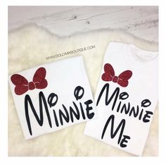 MUMMY & MINI 🙊❤🐭 How Cuuuuute for Disney? Tag somebody that needs these! >>> www.dollymixboutique.com?utm_content=buffer024d8&utm_medium=social&utm_source=pinterest.com&utm_campaign=buffer