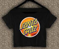 Santa+Cruz+Crus+Skateboards+T-shirt+Santa+Cruz+Crus+Crop+Top+Santa+Cruz+Crus+Skateboards+Crop+Tee+5