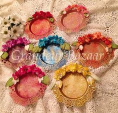 Mehndi Plate & Mehndi plates \u2026 | Wedding | Pinterest | Mehndi Decoration and Wedding
