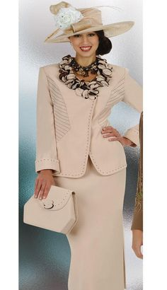 Elegant Women Church Suits | Knit Suits and Dresses, Women suits ...