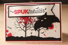 Halloween #Batmann#Fledermaus#Baum der Freundschaft#Stampin up