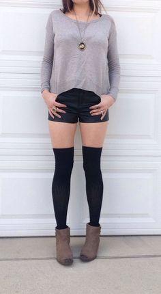 Vegan Leather Helena Shorts