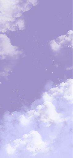 Light Purple Wallpaper, Purple Wallpaper Phone, Purple Butterfly Wallpaper, Whats Wallpaper, Cute Pastel Wallpaper, Clouds Wallpaper Iphone, Phone Wallpaper Images, Cloud Wallpaper, Iphone Wallpaper Tumblr Aesthetic