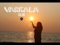 varkala, kerala, vlog, indian youtuber, beach