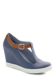 Montauk of the Town Wedge in Ocean, #ModCloth