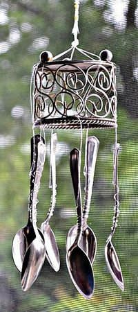 DIY Wind Chimes - Recycled Spoons