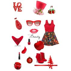 """""""...Rouge passion..."""" by yargo on Polyvore"""