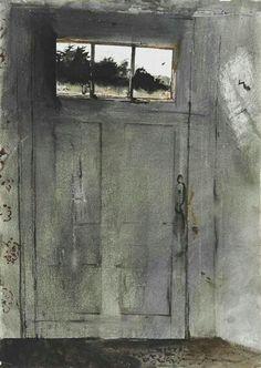 FRONT DOOR AT TEEL'S ByAndrew Wyeth