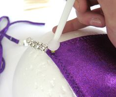 How-to rhinestone your own NPC bikini competition suit!