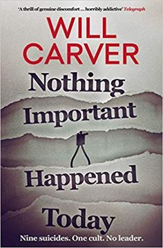 [EPUB] Nothing Important Happened Today Author Will Carver, Happy Reading, Free Reading, Got Books, Books To Read, What To Read, Book Photography, The Guardian, Thought Provoking, Free Ebooks