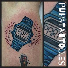 https://flic.kr/p/F5GUXv | Tatuaje reloj Casio Party Pupa Tattoo Granada | Pupa Tattoo Art Gallery     C/Molinos, 15     18009 Granada     Spain     Telf.: 958 22 12 80     instagram.com/pupa_tattoo     twitter.com/PupaTattoo     www.pupatattoo.es