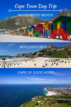 From Cape Town, take a scenic drive to Muizenberg Beach, Boulders Beach and the Cape of Good Hope for an unforgettable day trip.