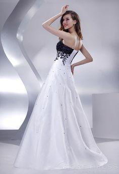 Smart A-line Sweetheart Sweep   Brush Appliques Prom Dress 2014 4835f774c78a