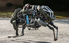 "What happens when the hoarder of the world's information merges with a fleet of DARPA robots? ""Google Adds to Its Menagerie of Robots"" - NYTimes.com"