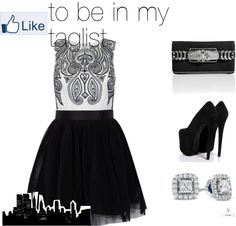 """""""Black and White"""" by lanisia1 on Polyvore"""