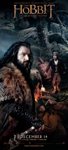 .The Hobbit: An Unexpected Journey (2012). It will be followed by The Desolation of Smaug (2013) and There and Back Again (2014). By Peter Jackson.