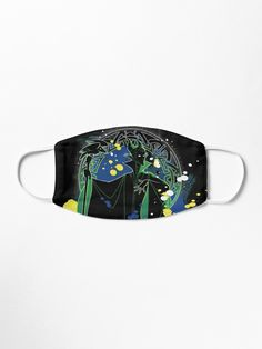 Silhouette of the Disney Villain of Sleeping Beauty, Maleficent with a bright mandala behind • Millions of unique designs by independent artists. Find your thing. Disney Villains, Maleficent, Spandex Fabric, Snug Fit, Face Masks, Sleeping Beauty, The Outsiders, Mandala, Fans