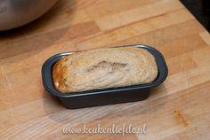Bananenbrood zonder suiker en boter Stir Fry, Fries, Banana, Healthy Recipes, Bread, Food, Brot, Essen, Bananas
