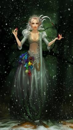 Fantasy art (artist unknown)