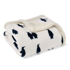 Eddie Bauer Printed Throw,