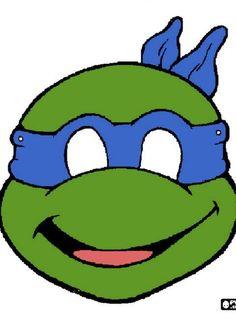 Ninja turtle coloring pages pin ninja turtles coloring pages Ninja Turtle Party, Ninja Turtle Mask, Ninja Party, Ninja Turtle Birthday, Printable Halloween Masks, Printable Masks, Free Printable, Mascaras Halloween, Turtle Birthday Parties