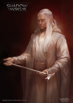 ArtStation - Sauron as Annatar, the Lord of Gifts, Paul Tobin