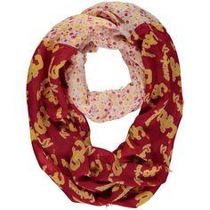 USC Trojans ZooZatz Women's Split Floral Infinity Scarf - $19.99