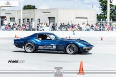 Danny Popp scored the overall win at the Goodguys Rod & Custom Association autocross at Indy in his LS-powered '72 Corvette. Nice job, Danny!