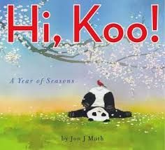 Hi, Koo! by Jon J. Muth, Poetry Mentor Text for word choice, sensory words, haiku