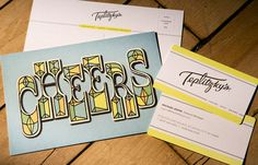 Love this branding by Mucca Design for Teplitzky's restaurant