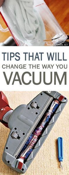 Tips That Will Change the Way You Vacuum| Cleaning, Cleaning Tips and Tricks, Cleaning Products, Cleaning Hacks, how to Clean Your Home, Vacuuming Tips and Tricks, How to Vacuum the Right Way