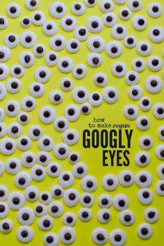 How To Make Vegan Googly Eyes