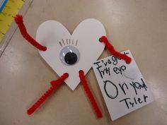 Best Valentine's Day craft ever!!!!!